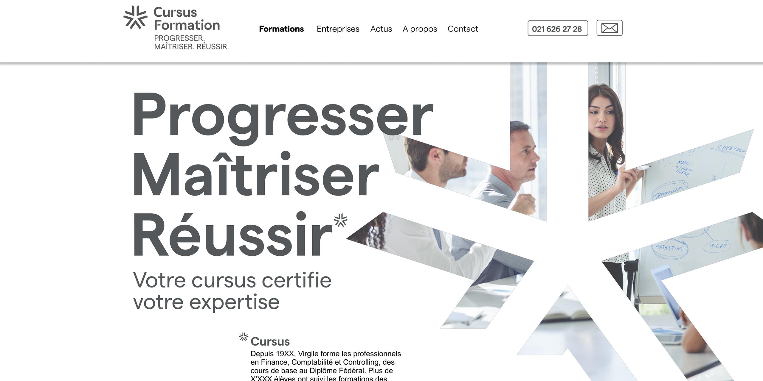 Cursus Formation - site web